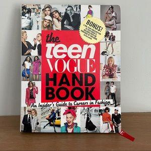 The Teen Vogue Handbook Hardcover NEW